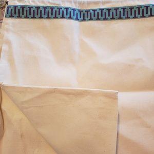 NEW Tory Burch Dust Cover Bag Drawstring Medium